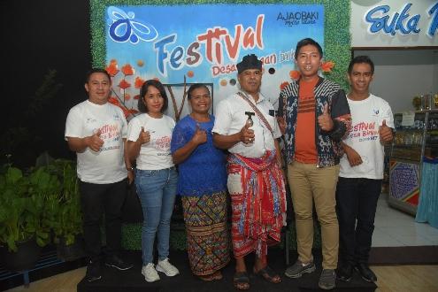 Desa Ajaobaki di TTS Juara Pertama Festival Desa Binaan Bank NTT 2021