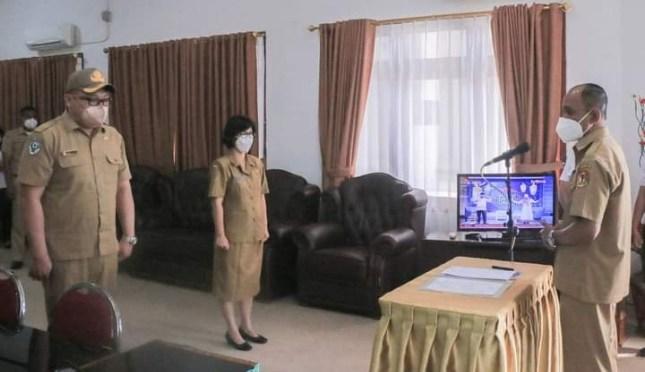 Sertijab Kepala UPTD Puskot, Wabup Belu: Koordinasi Segenap Stakeholders