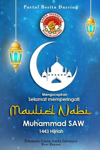Maulid Nabi 1443H -- Garda Indonesia