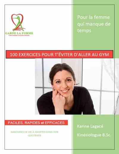 100 EXERCICES POUR T'ÉVITER D'ALLER AU GYM