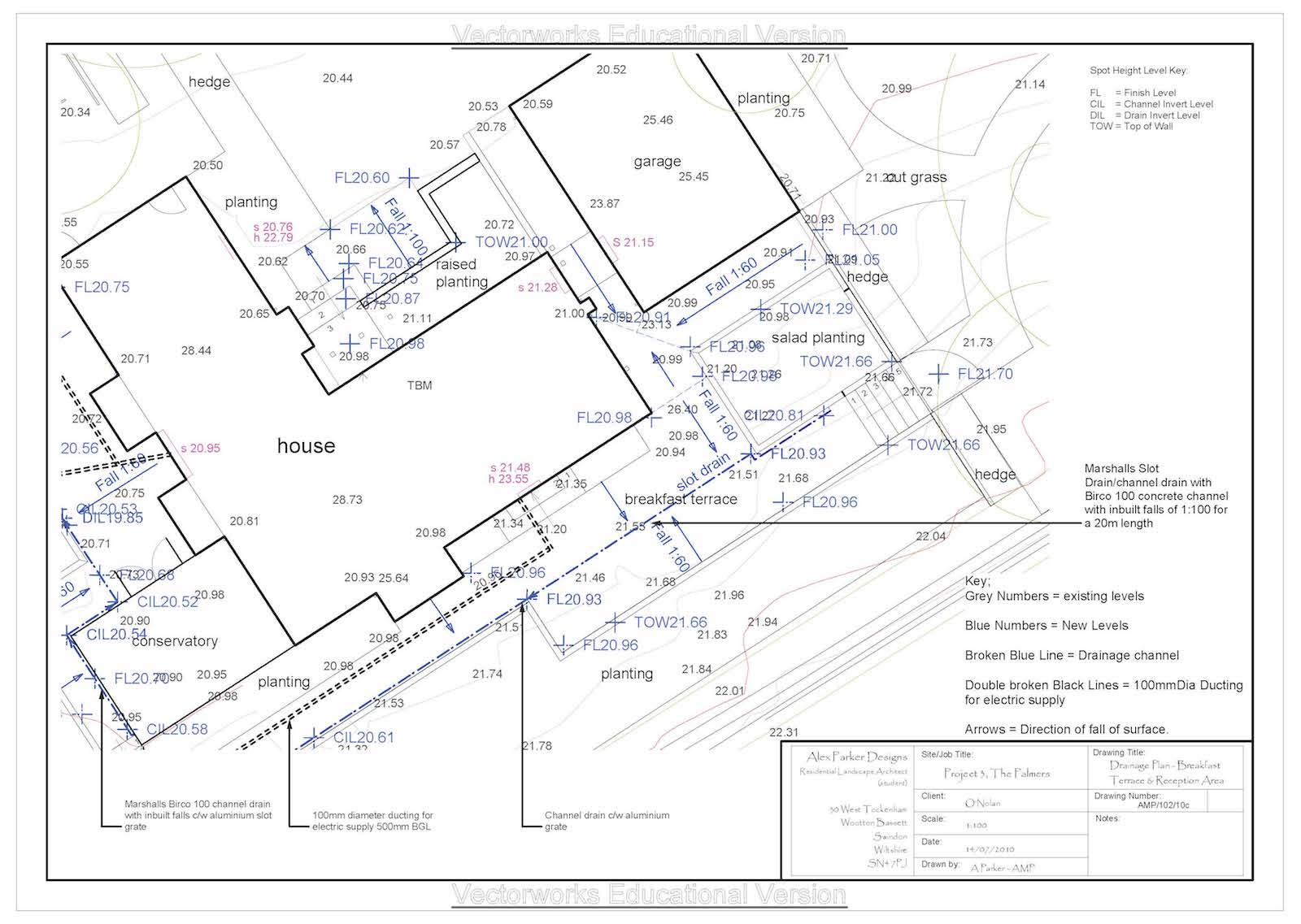 Vectorworks Tutorials Demystifying CAD for landscape ... on Landscape Drainage Design  id=41140