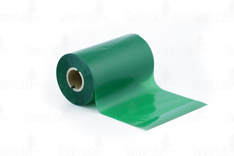 """Taśma barwiąca """"wosk-żywica"""" SUPER, zielona -110mm x 300m"""