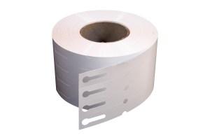 Etykiety pętelkowe dodruku termotransferowego. Rolka zawiera 2000 szt. etykiet. (Fot.Garden Label)