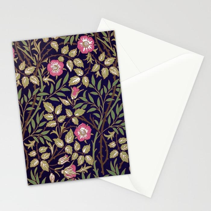 william-morris-sweet-briar-floral-art-nouveau-cards (1)