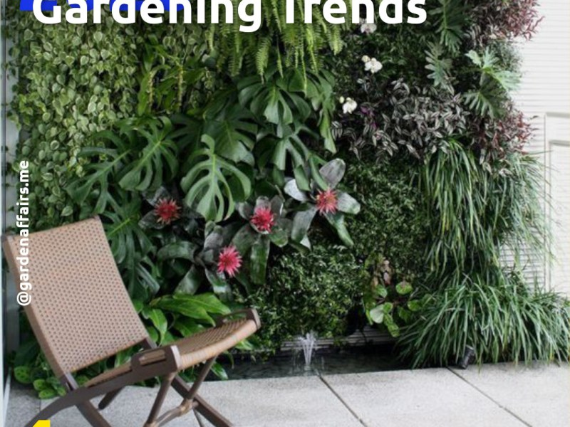 5 Landscaping Trends in 2020 | 4: Vertical Gardens