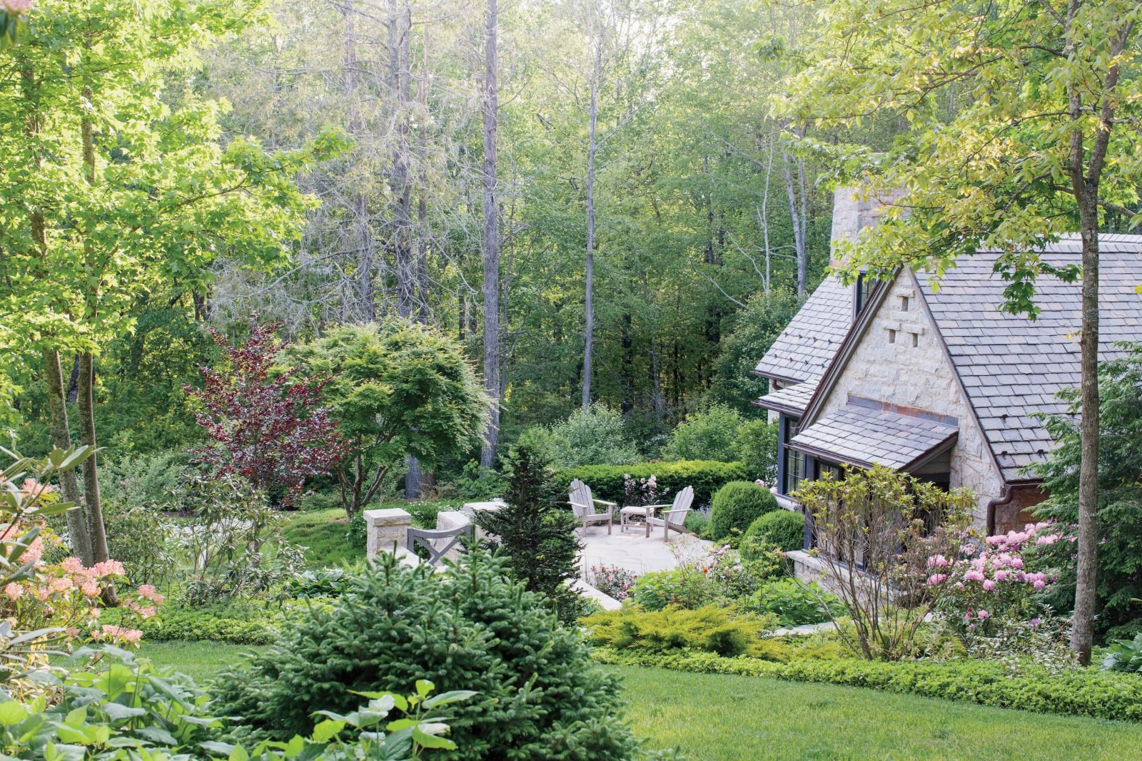 A Southern Mountain Garden - Garden & Gun on Mountain Backyard Ideas id=12388