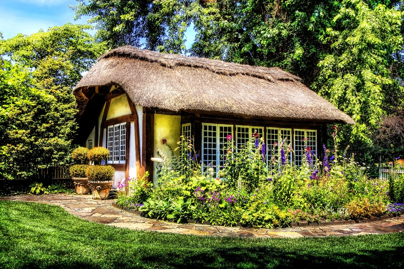 cottage witch's garden