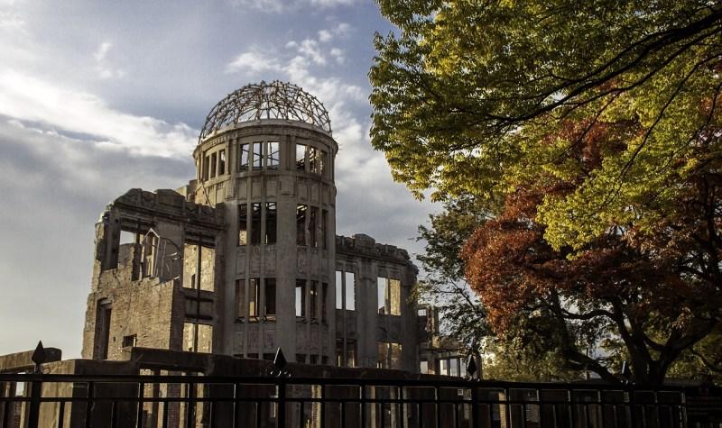 Ginkgos at Hiroshima