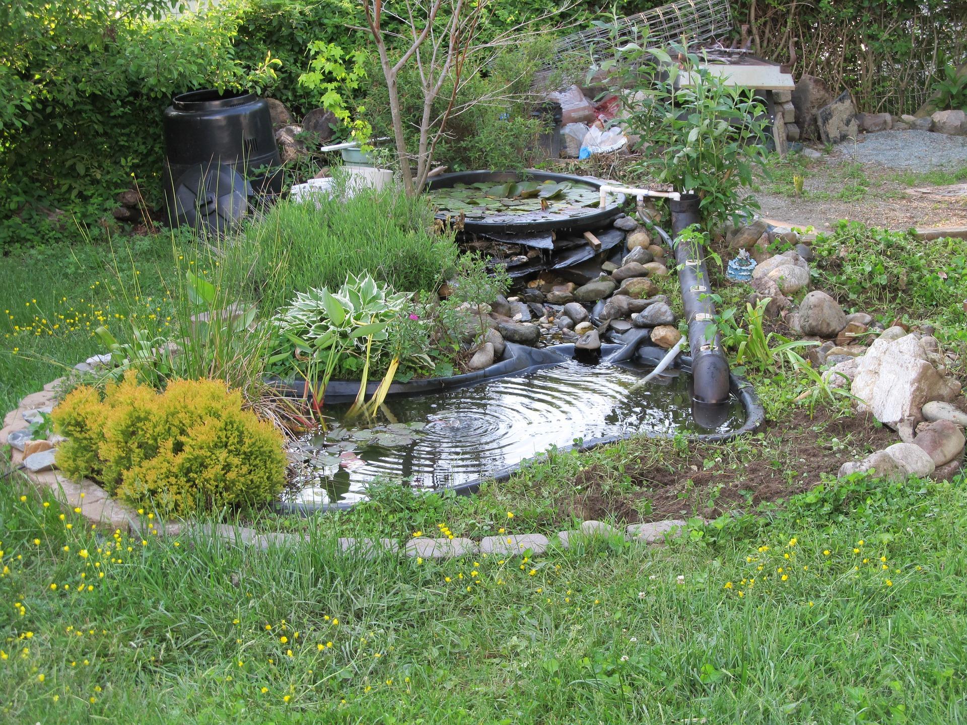 How to Turn Your Brilliant Backyard Pond Ideas into ... on Yard Ponds Ideas id=63151