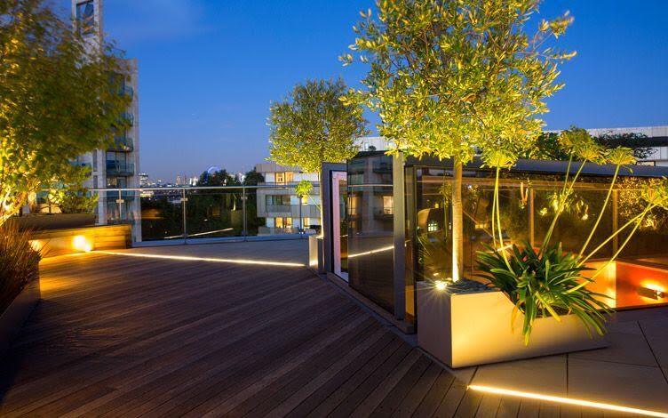 installing outdoor lighting as a