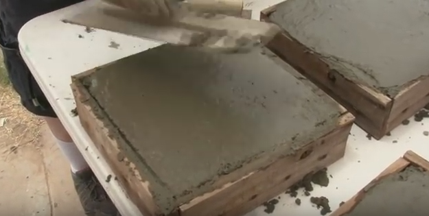 HOW TO: Make your own Paving Slabs