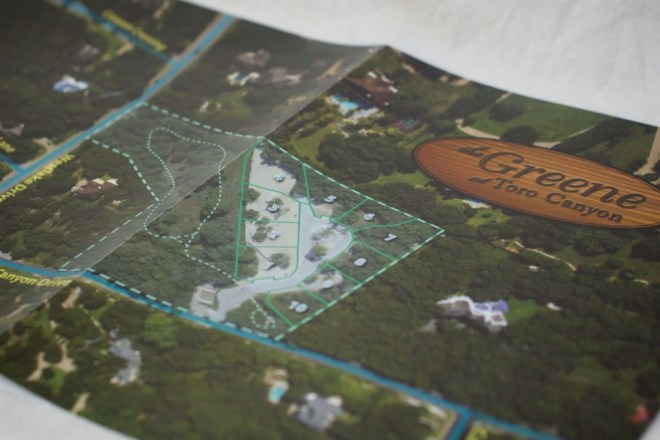 Real-estate sales collateral - custom map