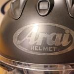 Arai ヘルメットの改良 2