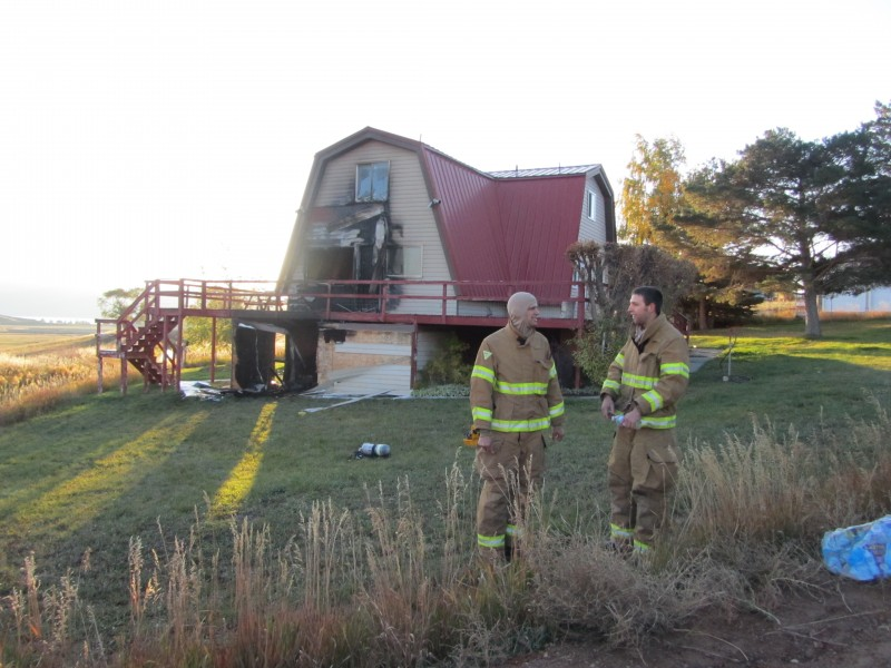 Structure Fire On Sweetwater Hill