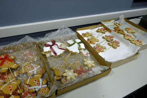 Ginger bread decorations