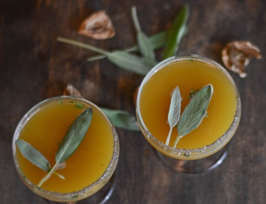 sage walnut bourbon scotch walnut cocktail