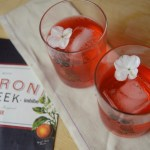 negroni for negroni week with aperol, campari, lillet, gin