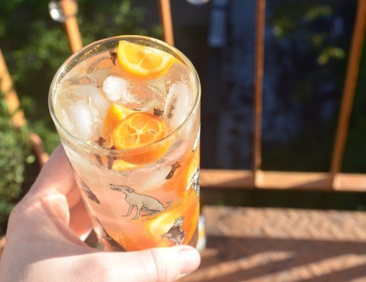 kumquat gin and tonic