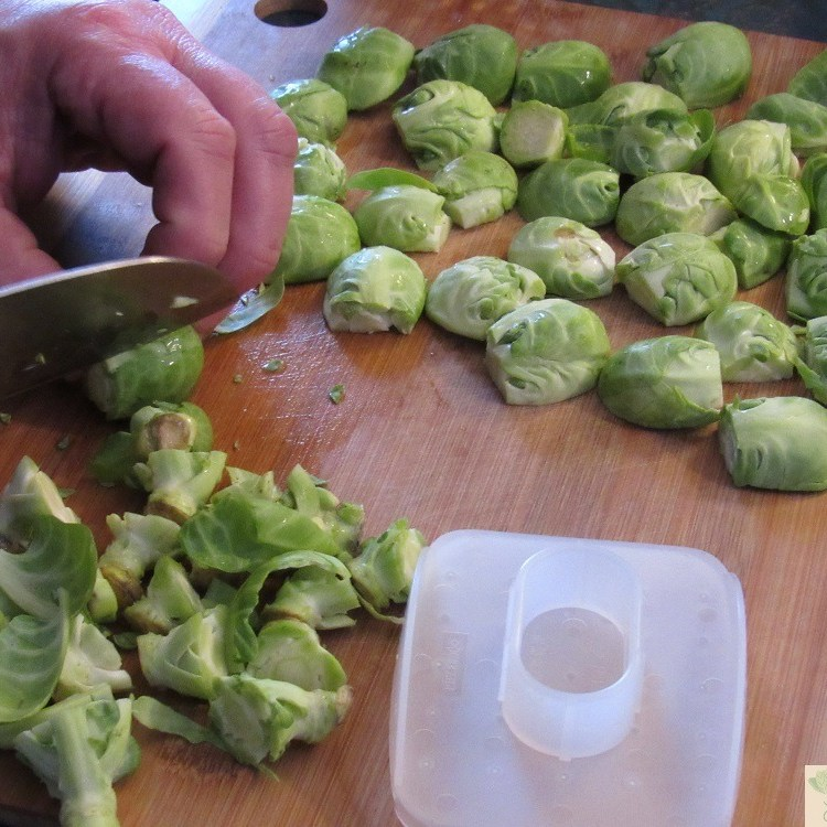Slicing sprouts