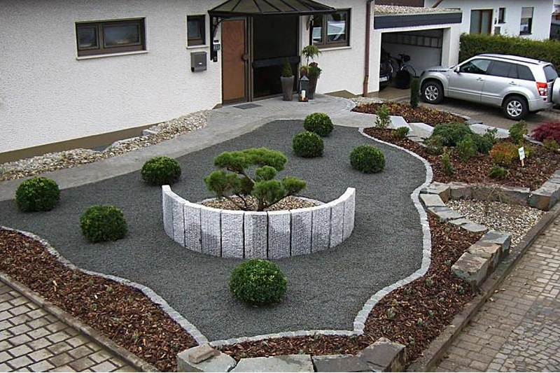 Low Cost Landscaping Ideas For Small Front Yards - Garden ... on Low Cost Patio Ideas id=77292