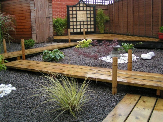 Japanese Garden Design Japanese Garden With Wood Pathway For with regard to Japanese Garden Design
