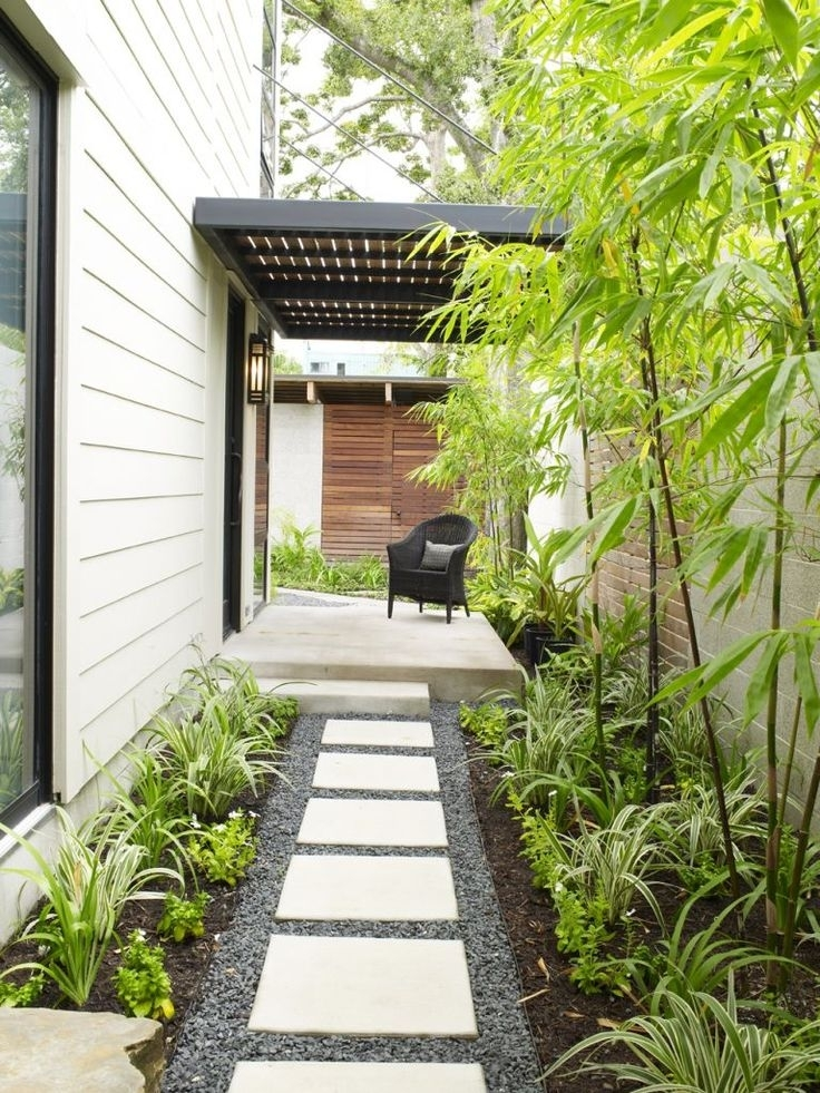 Landscaping Ideas For Narrow Side Yard - Garden Design on Narrow Backyard Landscaping Ideas  id=72640
