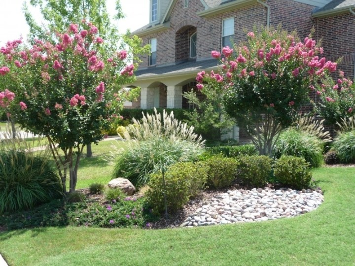 North Texas Back Yard Landscaping Ideas |  Yard Landscape regarding Landscaping Ideas For Front Yard With Trees