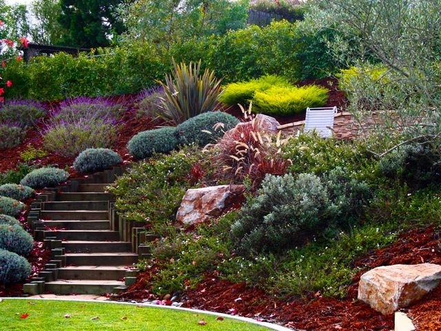 Landscaping Ideas Front Yard Steep Slope - Garden Design on Steep Sloping Garden Ideas  id=24585