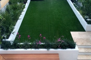 Modern Garden Design Ideas Fulham Chelsea Battersea Clapham Dulwich inside Garden Design Back Of House