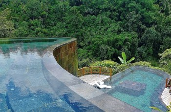 The Top 10 Hotel Pools In The World By Azureazure - Hanging Gardens in Ubud Hanging Gardens Pool