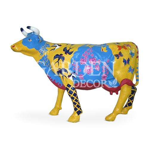 Купить Садовая фигура Корова большая Цена в Москве 26 250 ...