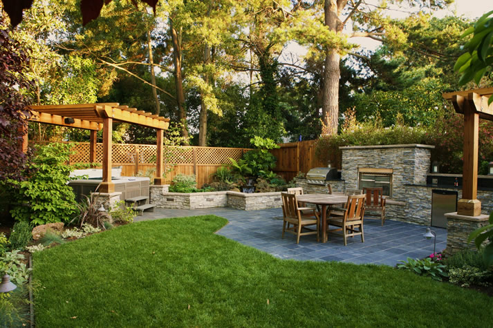 Design Your Own Outdoor Dining Area | Garden Design for Living on Backyard Dining Area Ideas id=47558