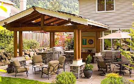 Design Your Own Outdoor Dining Area   Garden Design for Living on Living Spaces Outdoor Dining id=72779