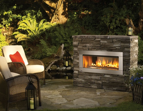 Design guide for outdoor firplaces and firepits   Garden ... on Small Outdoor Fireplace Ideas id=79232
