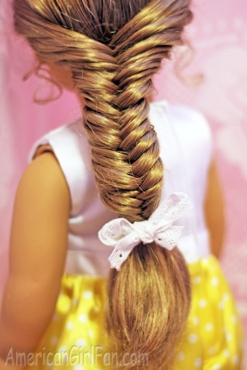 Doll Hairstyle How To Do A Fishtail Braid AmericanGirlFan