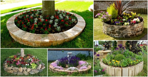 circular flower garden designs HOW TO MAKE ROUND FLOWER BEDS THAT WILL BEAUTIFY YOUR YARD