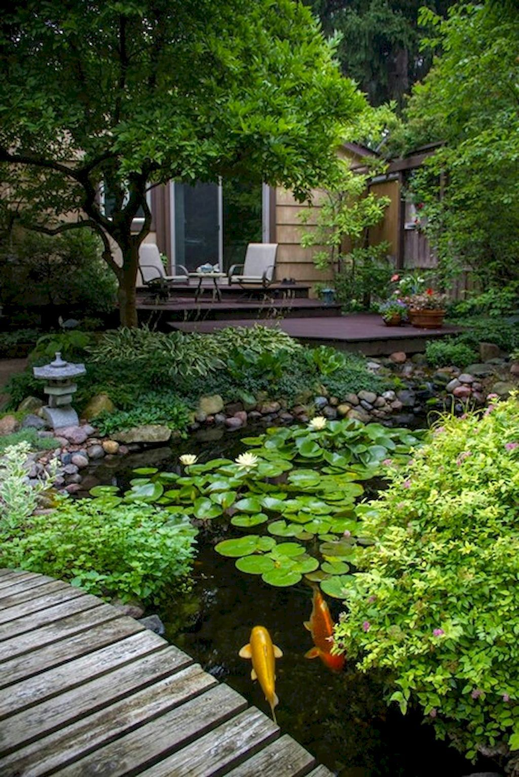 The 20 Best DIY Fun Landscaping Ideas For Your Dream Backyard on Backyard Pond Landscaping Ideas  id=34417