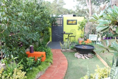 Student design garden by Robyn Cardy & Kathy Moore from Challenger TAFE (click photo to see large version)