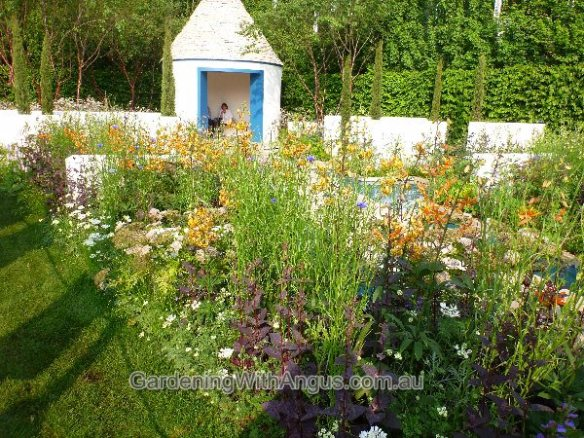 'RBC Blue Water' garden, designed by Nigel Dunnett and The Landscape Agency, Chelsea Flower Show 2012