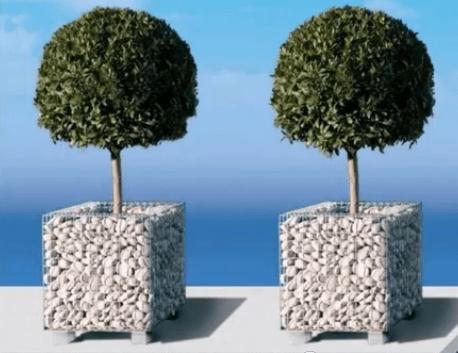 Gabion planters by Gabion1
