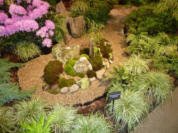 Miniature island Boston Flower Show 2013