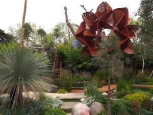 Australian garden Chelsea Flower Show 2013