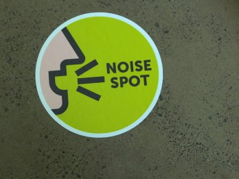 Noise spot inside The Calyx