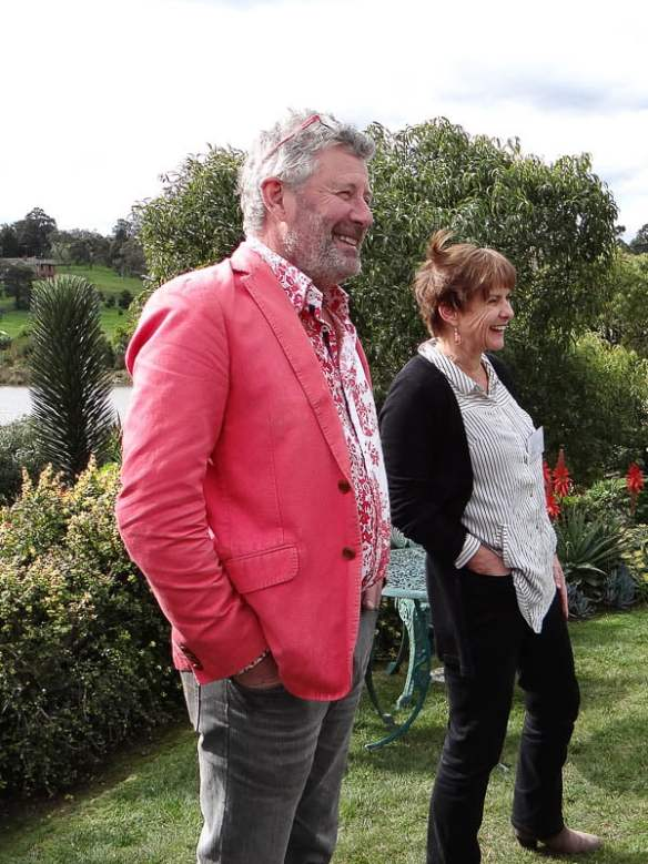 Stephen Ryan at the Open Gardens Victoria launch
