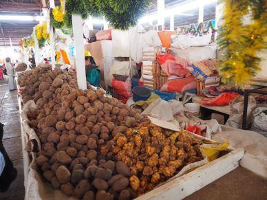 Potato varieties in the Cusco market