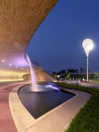 Oxygen Park, Doha, Qatar Foundation, Education City, AECOM. Photo Markus Elblaus