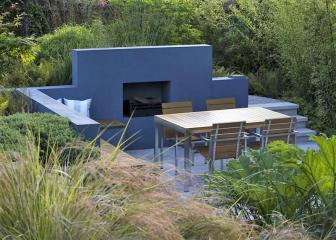 Modern Japanese garden by Andy Sturgeon
