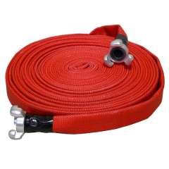 Manguera Contra Incendios Fabricada en Caucho Rojo