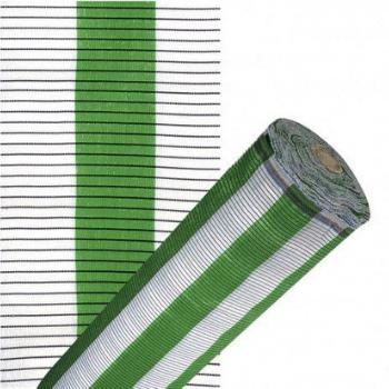 Malla-sombreo-plana-blanca-y-verde-decoración