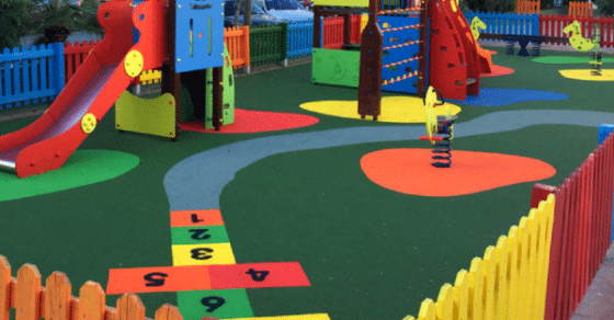 Circuito Gimnasio : Gimnasio infantil con pavimento infantil gardeneas